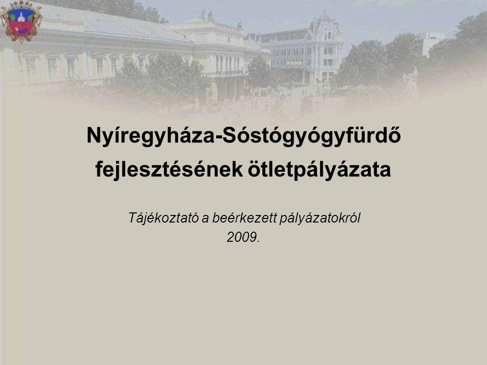 Nyíregyháza-Sóstógyógyfürdő fejlesztésének ötletpályázata