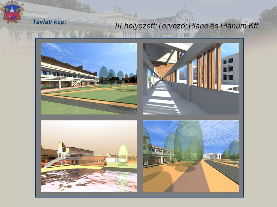 III.helyezett:Tervező: Plane és Plánum Kft.