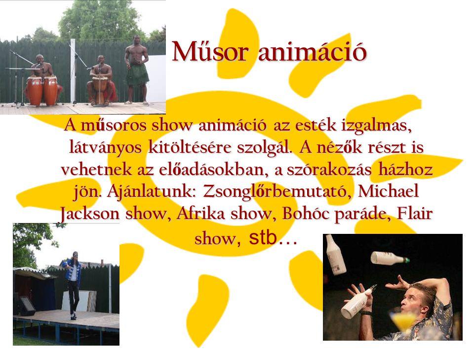 Műsor animáció