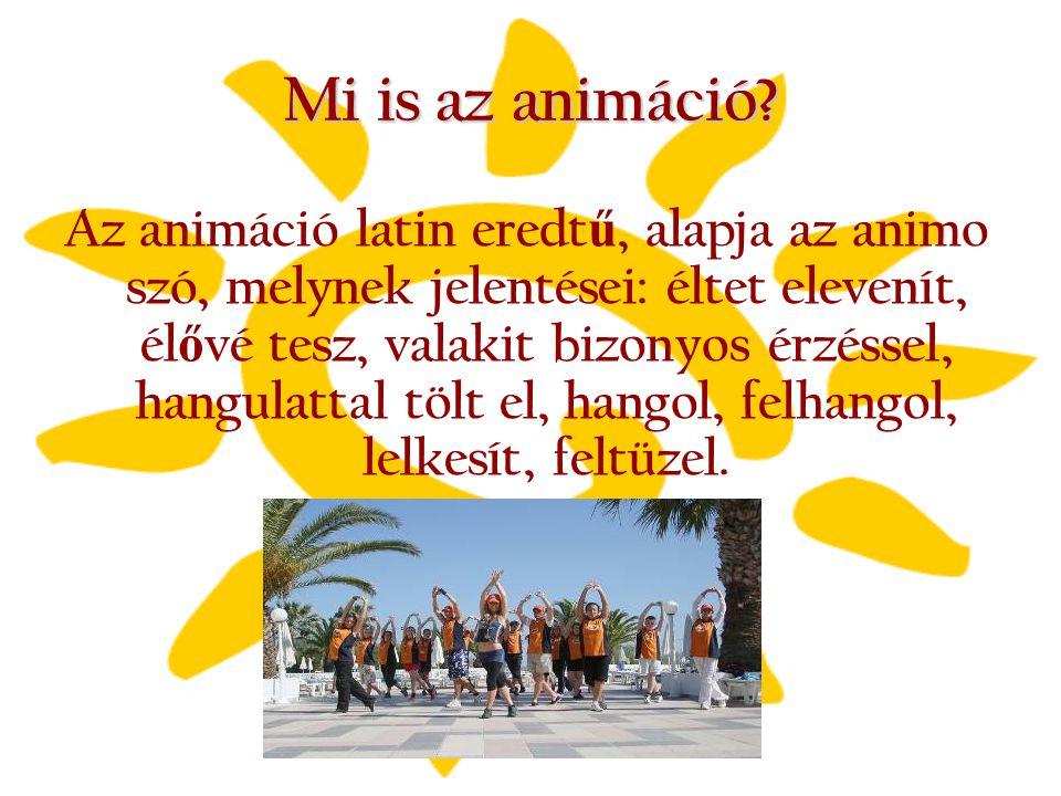Mi is az animáció