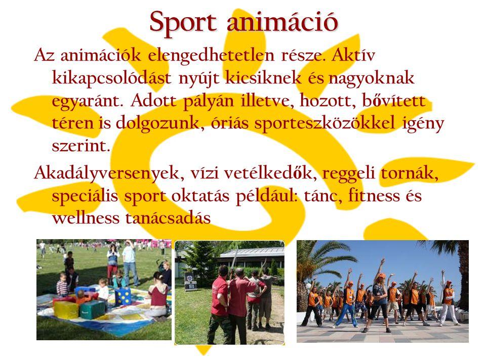 Sport animáció