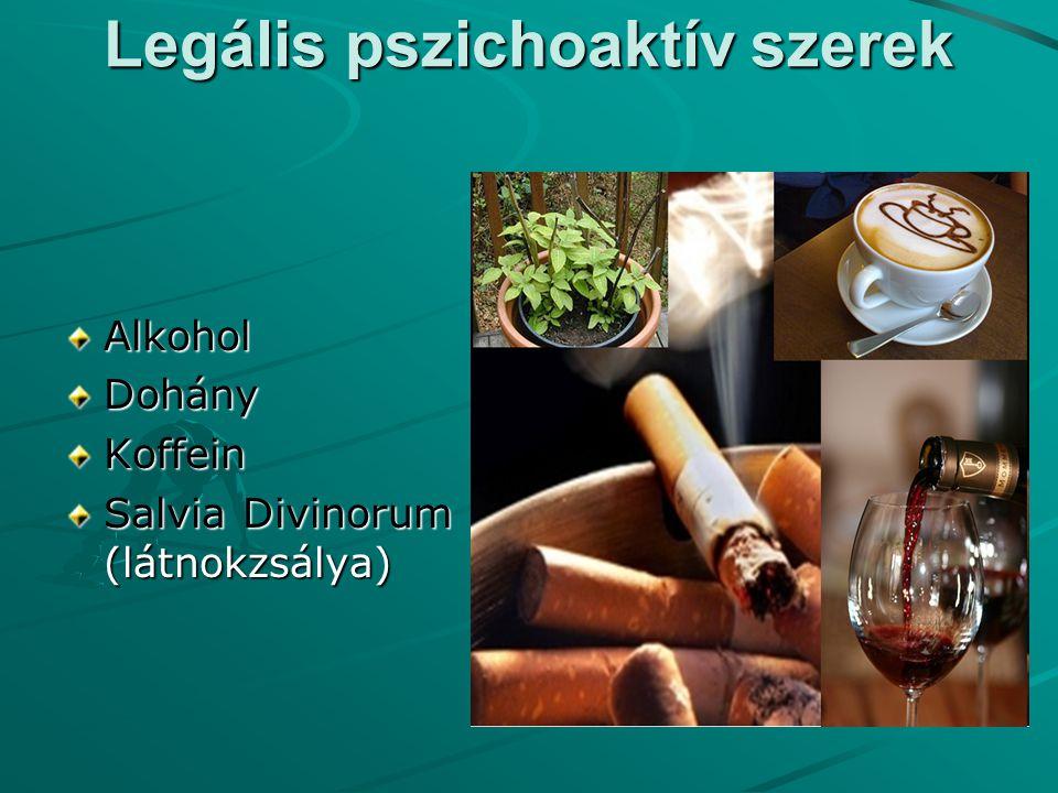Legális pszichoaktív szerek