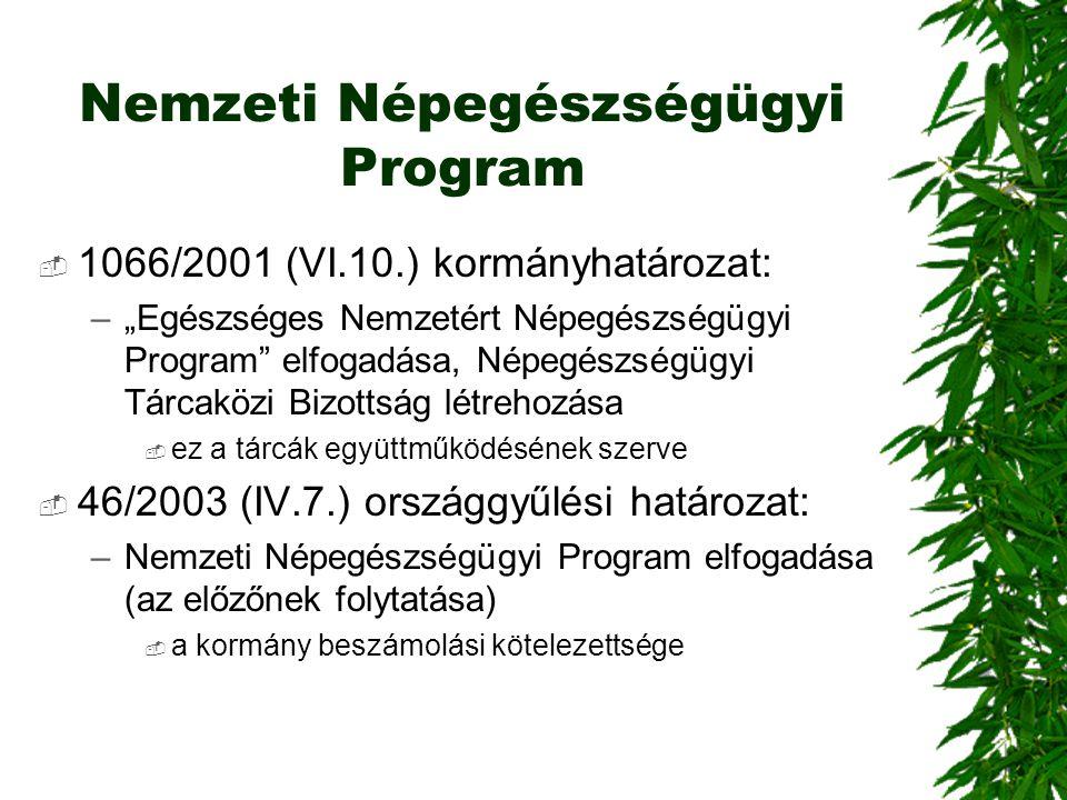 Nemzeti Népegészségügyi Program
