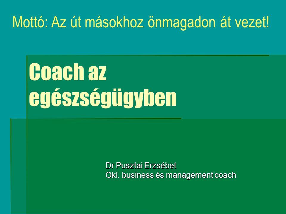 Coach az egészségügyben