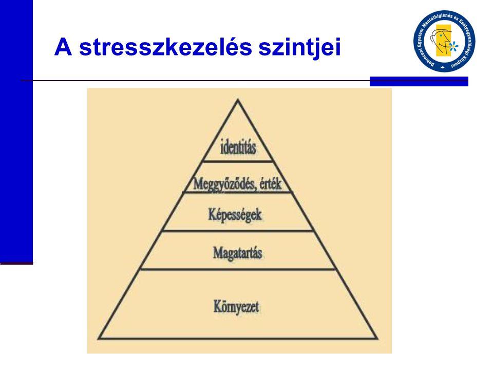 A stresszkezelés szintjei