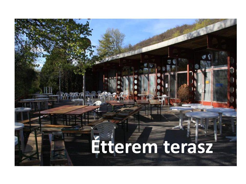 Étterem terasz