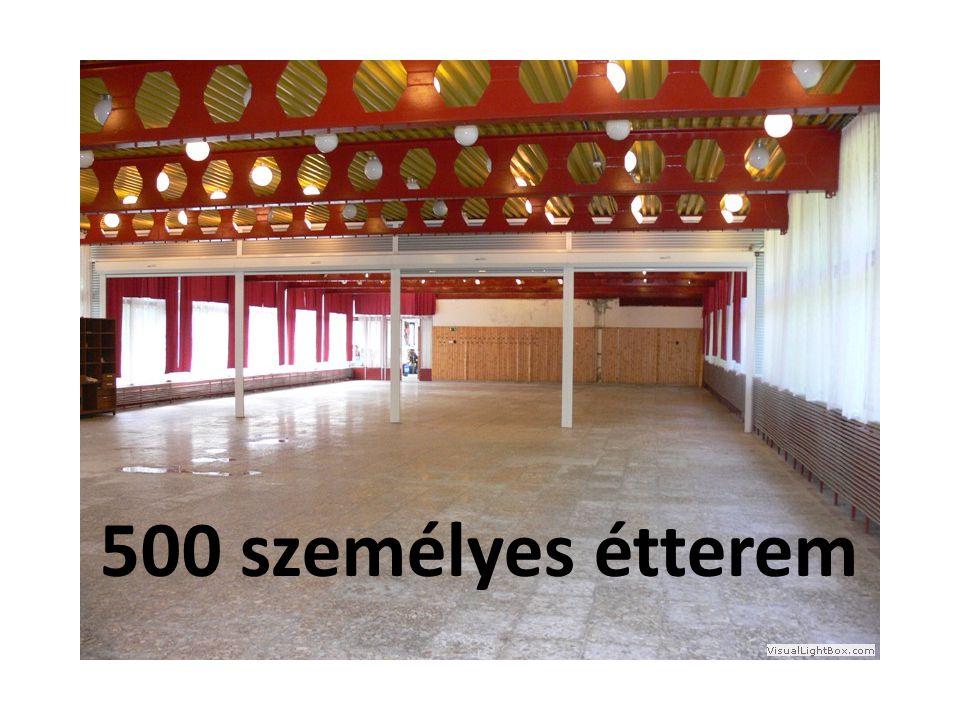 500 személyes étterem