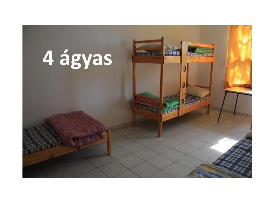 4 ágyas