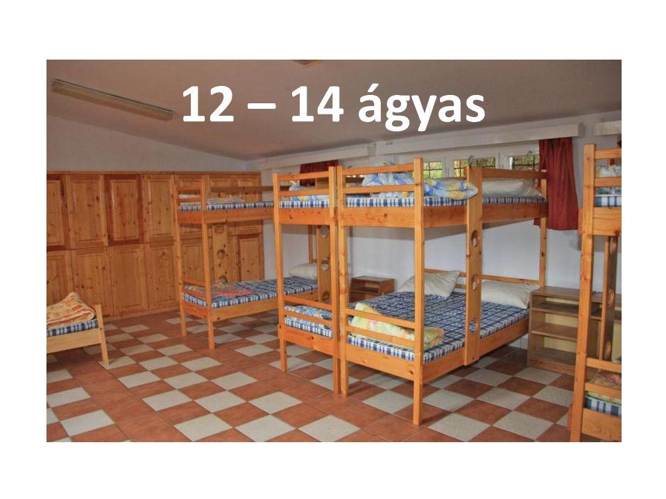 12 – 14 ágyas