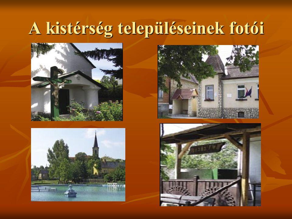 A kistérség településeinek fotói