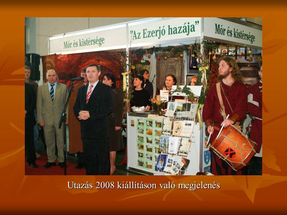 Utazás 2008 kiállításon való megjelenés