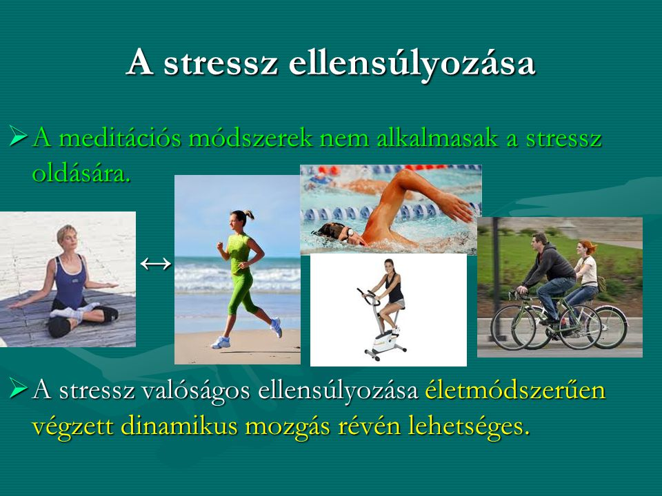 A stressz ellensúlyozása