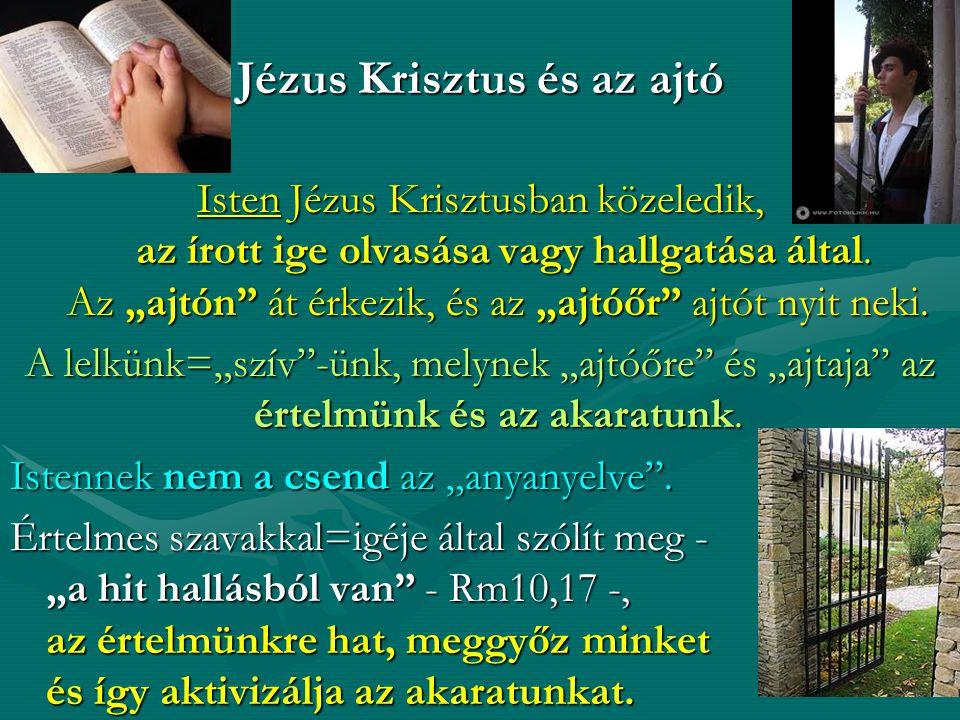 Jézus Krisztus és az ajtó