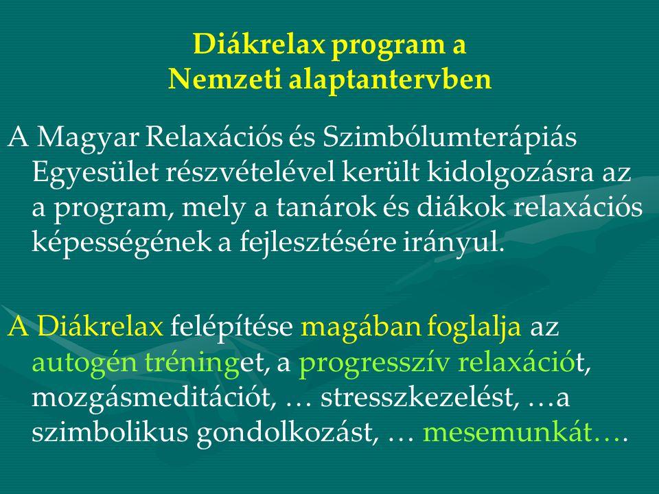 Diákrelax program a Nemzeti alaptantervben