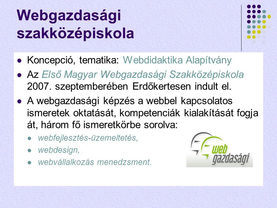 Webgazdasági szakközépiskola