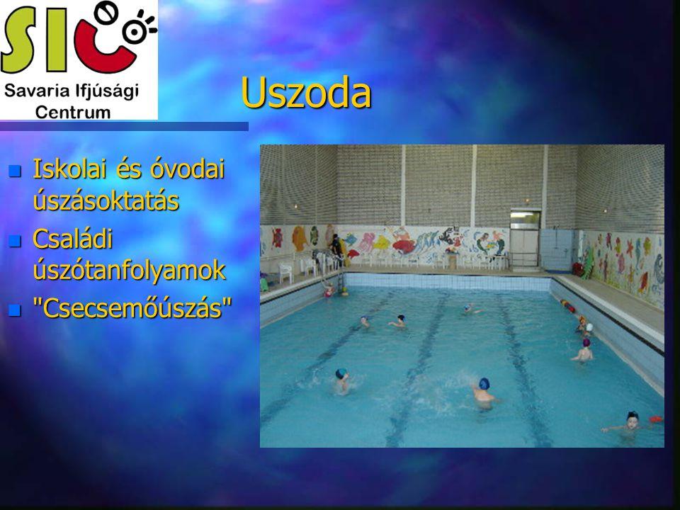 Uszoda Iskolai és óvodai úszásoktatás Családi úszótanfolyamok