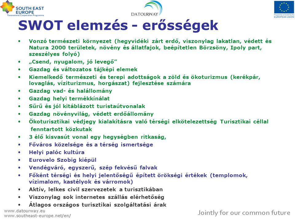 SWOT elemzés - erősségek