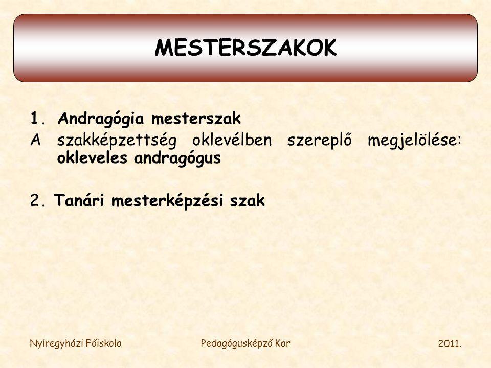 MESTERSZAKOK MESTERSZAKOK
