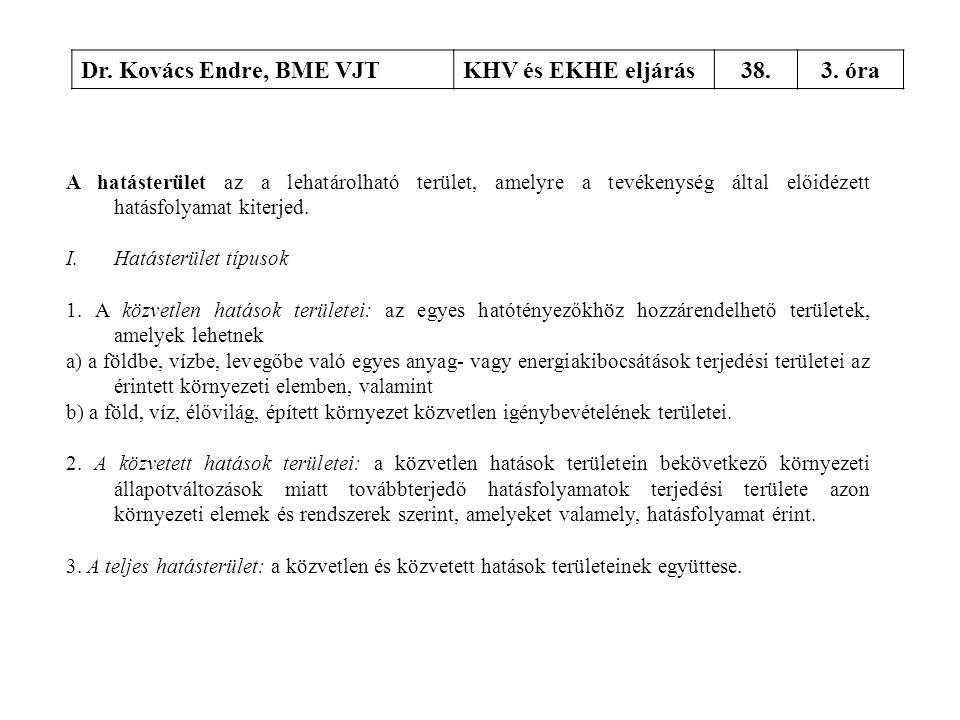 Dr. Kovács Endre, BME VJT KHV és EKHE eljárás 38. 3. óra
