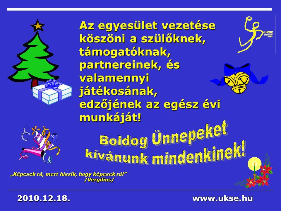 Boldog Ünnepeket kívánunk mindenkinek!