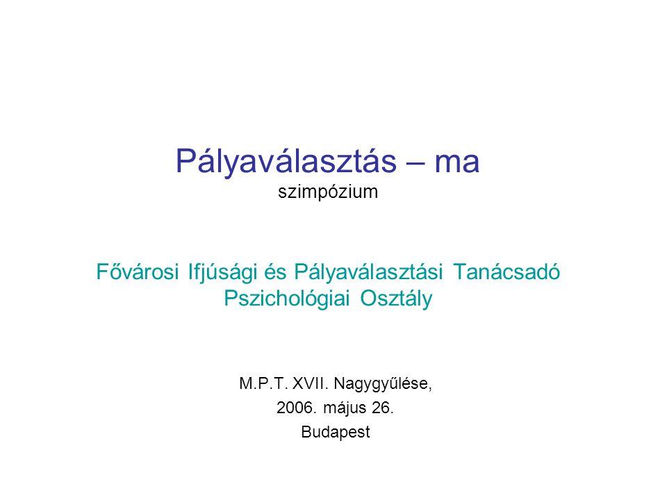 M.P.T. XVII. Nagygyűlése, 2006. május 26. Budapest