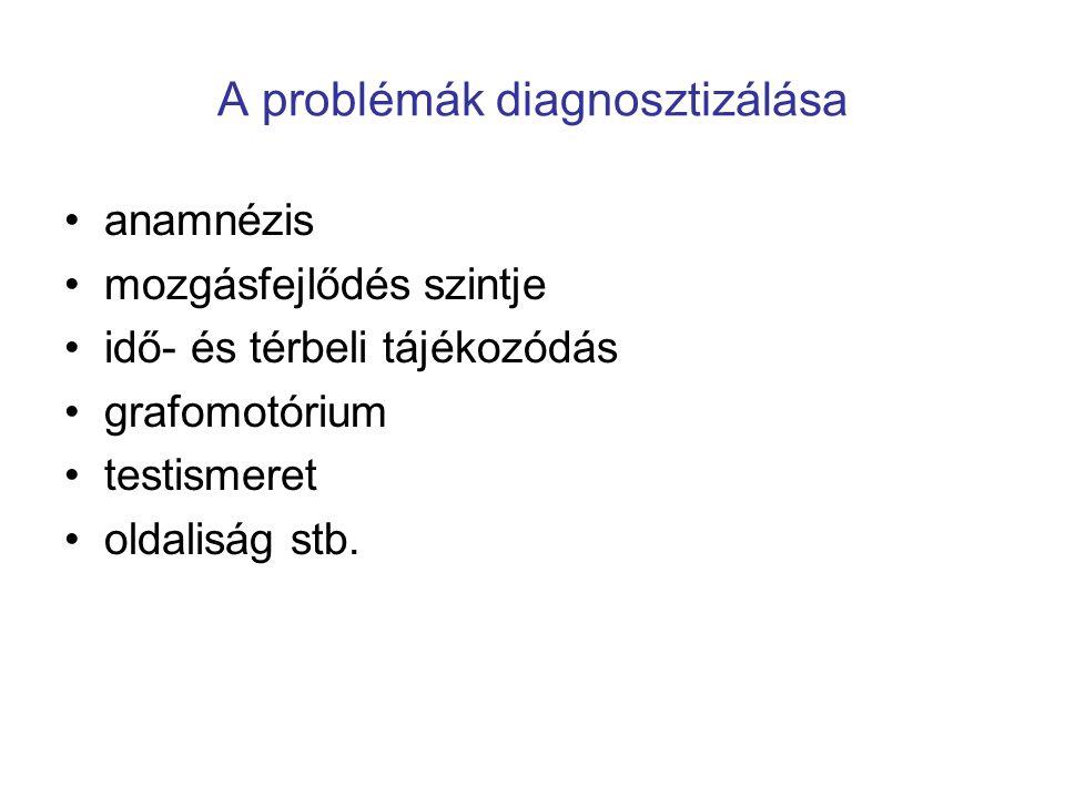 A problémák diagnosztizálása