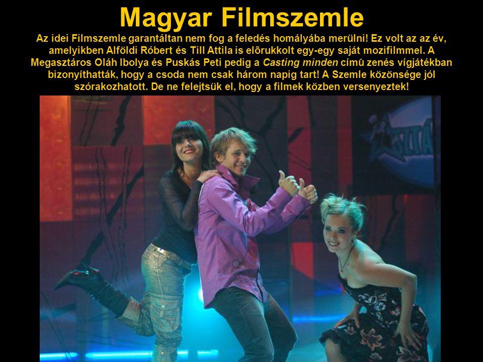 Magyar Filmszemle Az idei Filmszemle garantáltan nem fog a feledés homályába merülni.