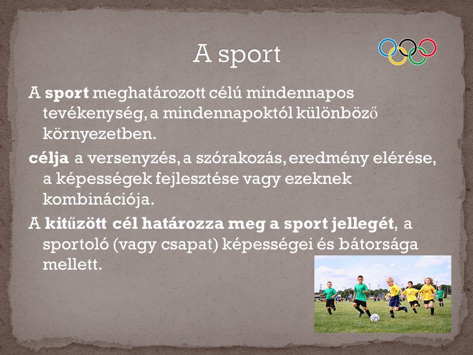 A sport