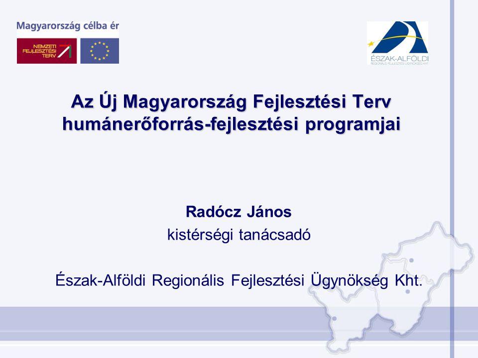 Észak-Alföldi Regionális Fejlesztési Ügynökség Kht.