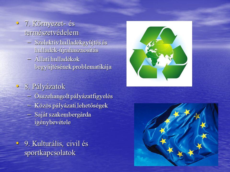 7. Környezet- és természetvédelem