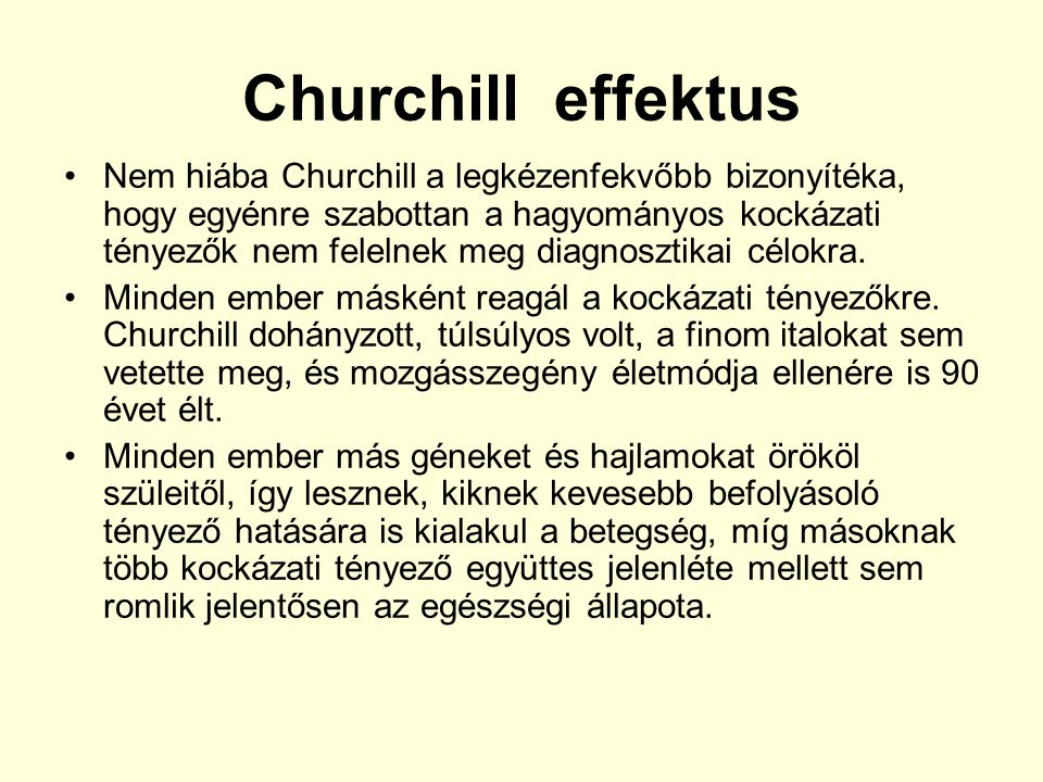 Churchill effektus
