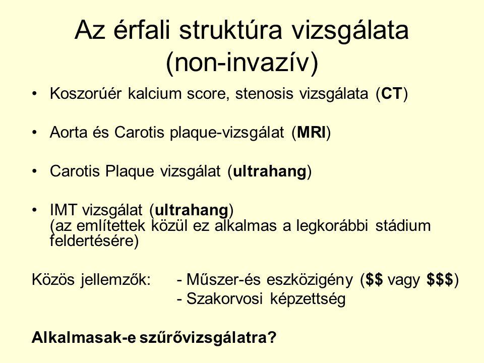 Az érfali struktúra vizsgálata (non-invazív)