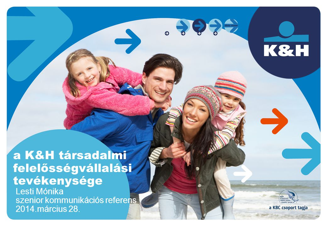 a K&H társadalmi felelősségvállalási tevékenysége