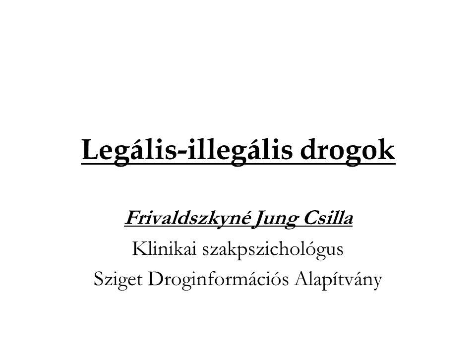 Legális-illegális drogok