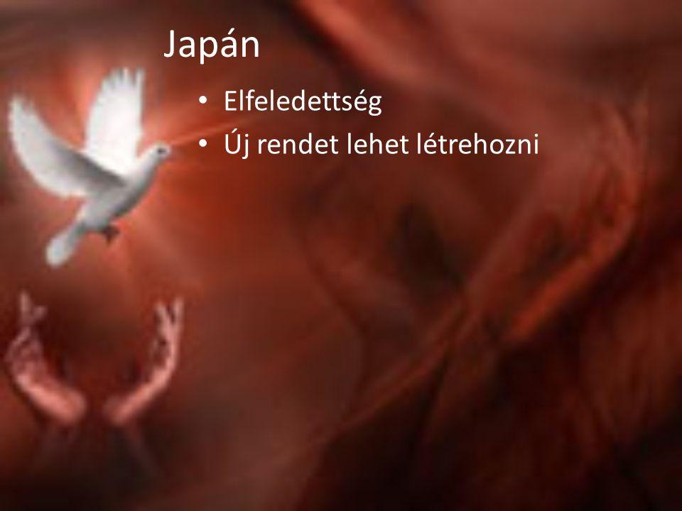 Japán Elfeledettség Új rendet lehet létrehozni
