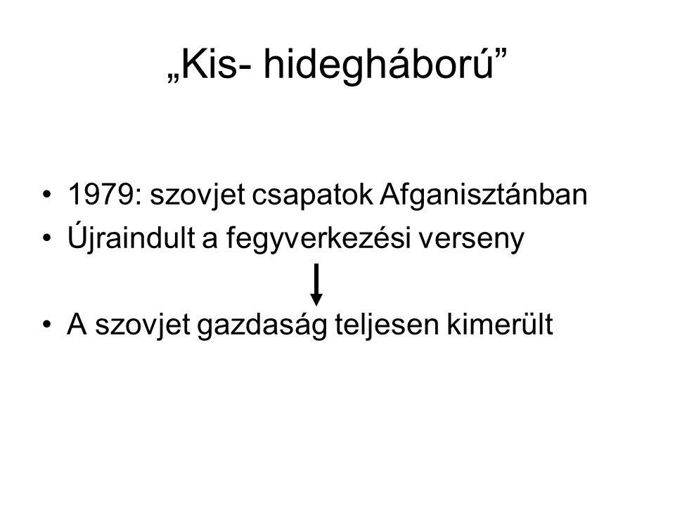 """""""Kis- hidegháború 1979: szovjet csapatok Afganisztánban"""