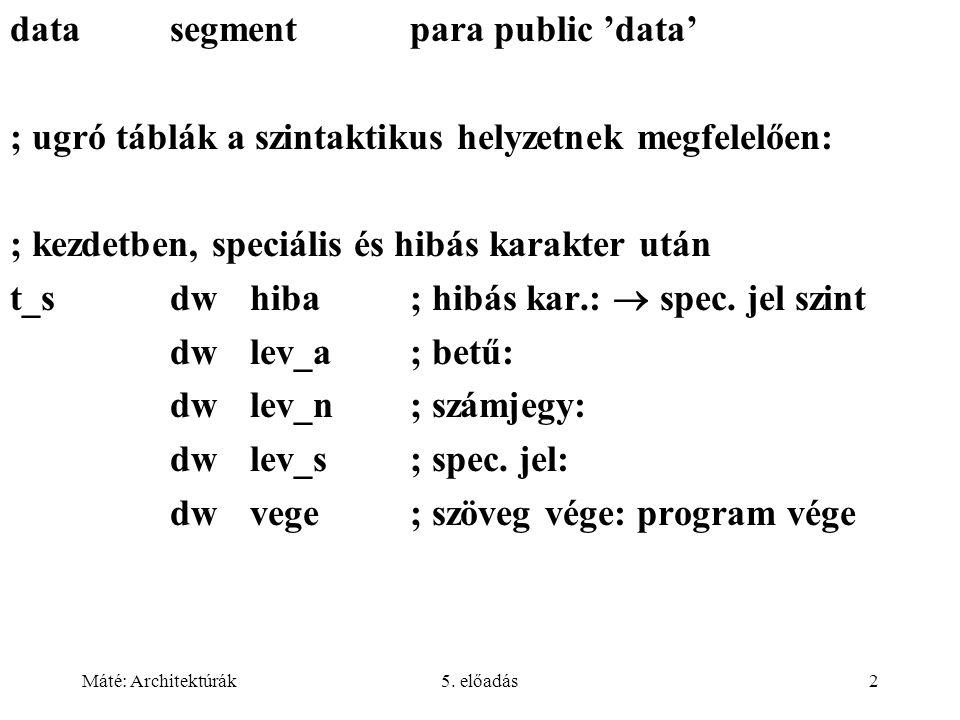 data segment para public 'data'