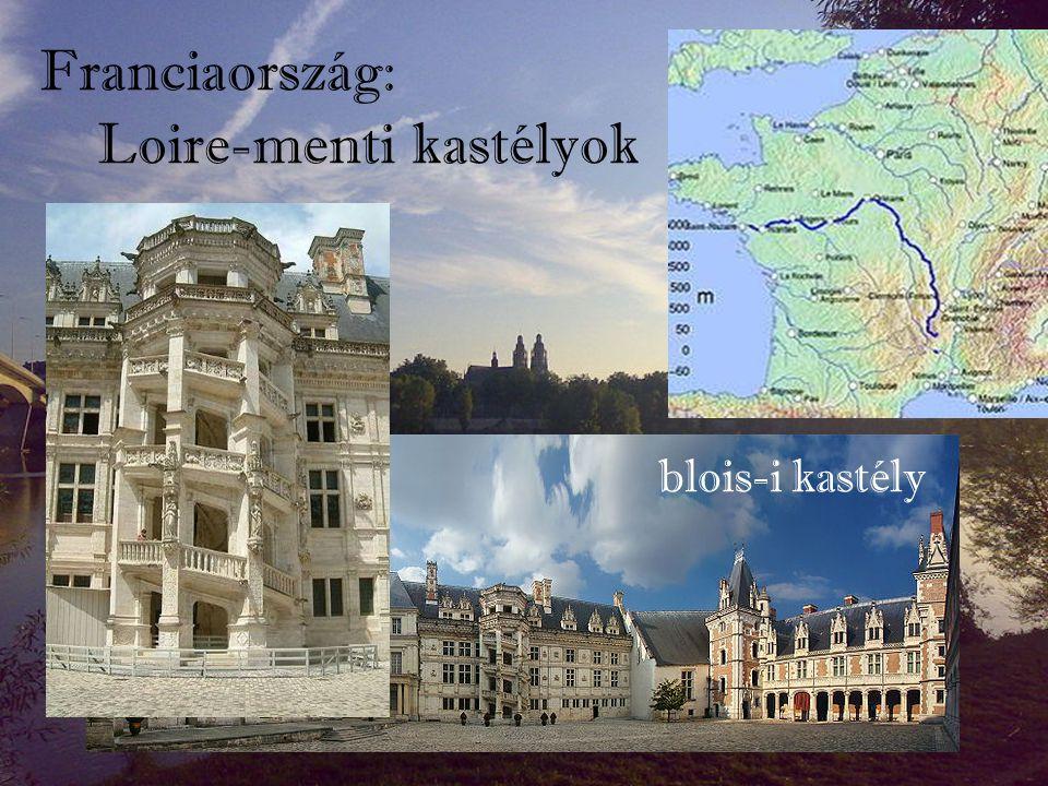 Loire-menti kastélyok