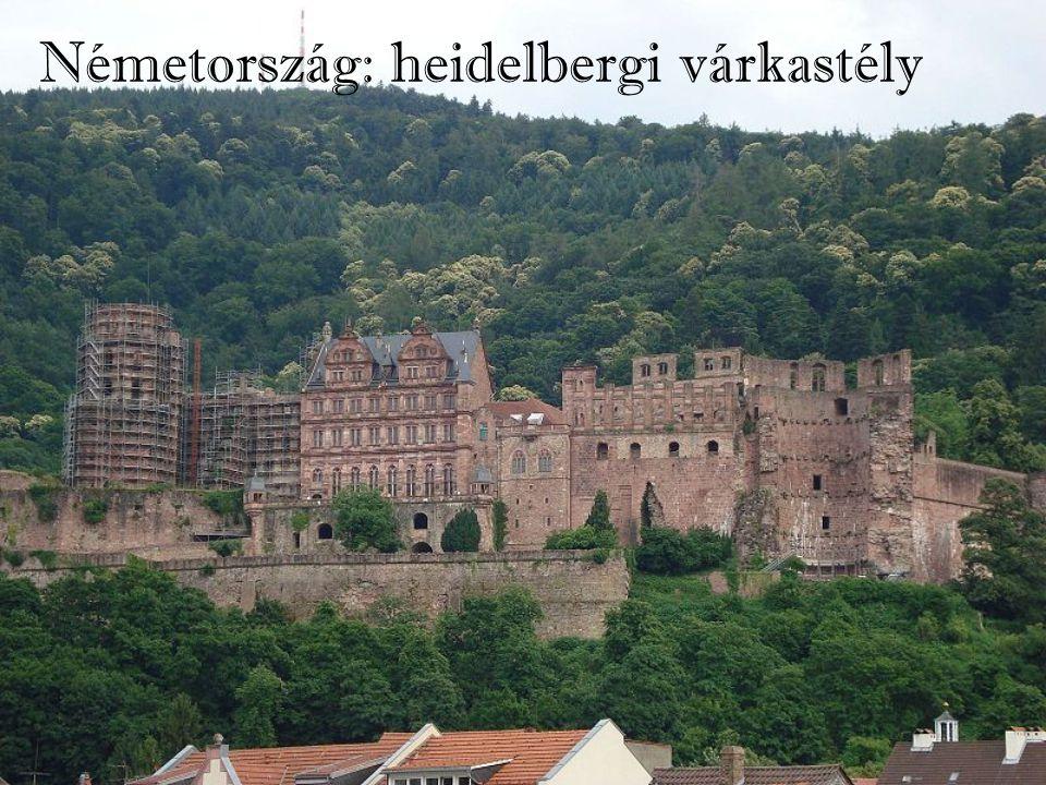Németország: heidelbergi várkastély