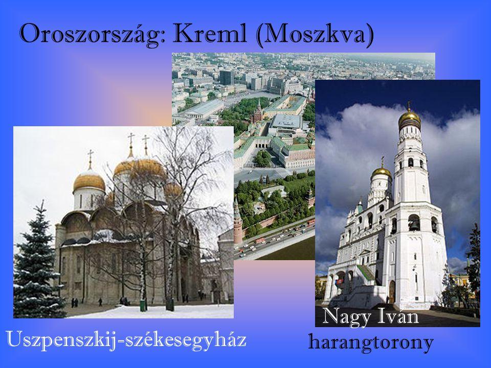 Oroszország: Kreml (Moszkva)