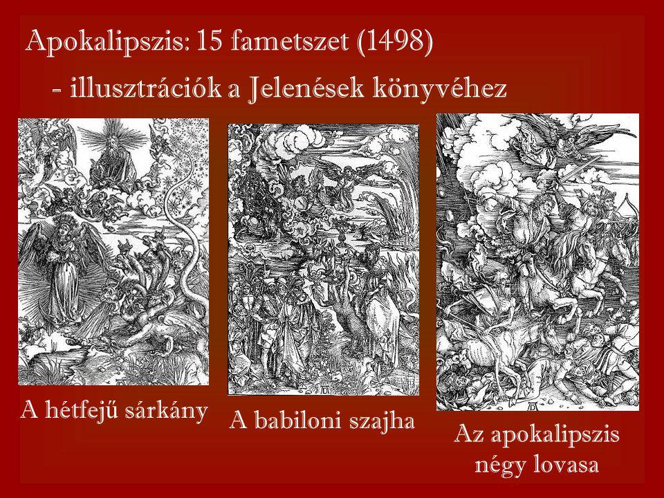 Apokalipszis: 15 fametszet (1498)