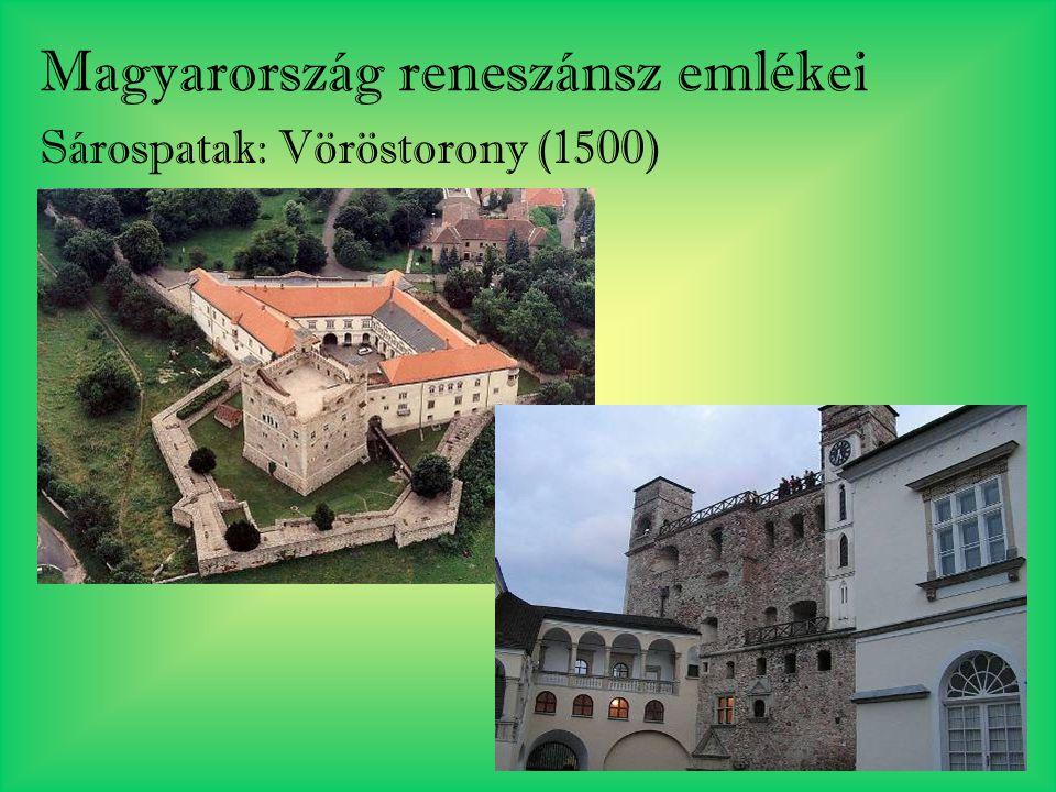 Magyarország reneszánsz emlékei