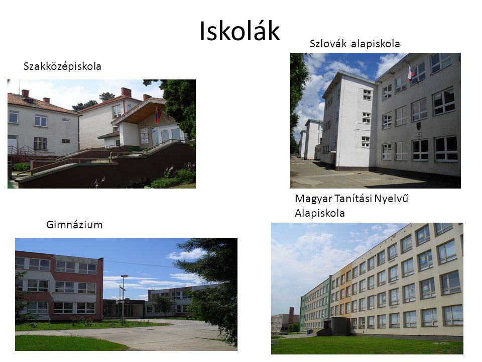 Iskolák Szlovák alapiskola Szakközépiskola