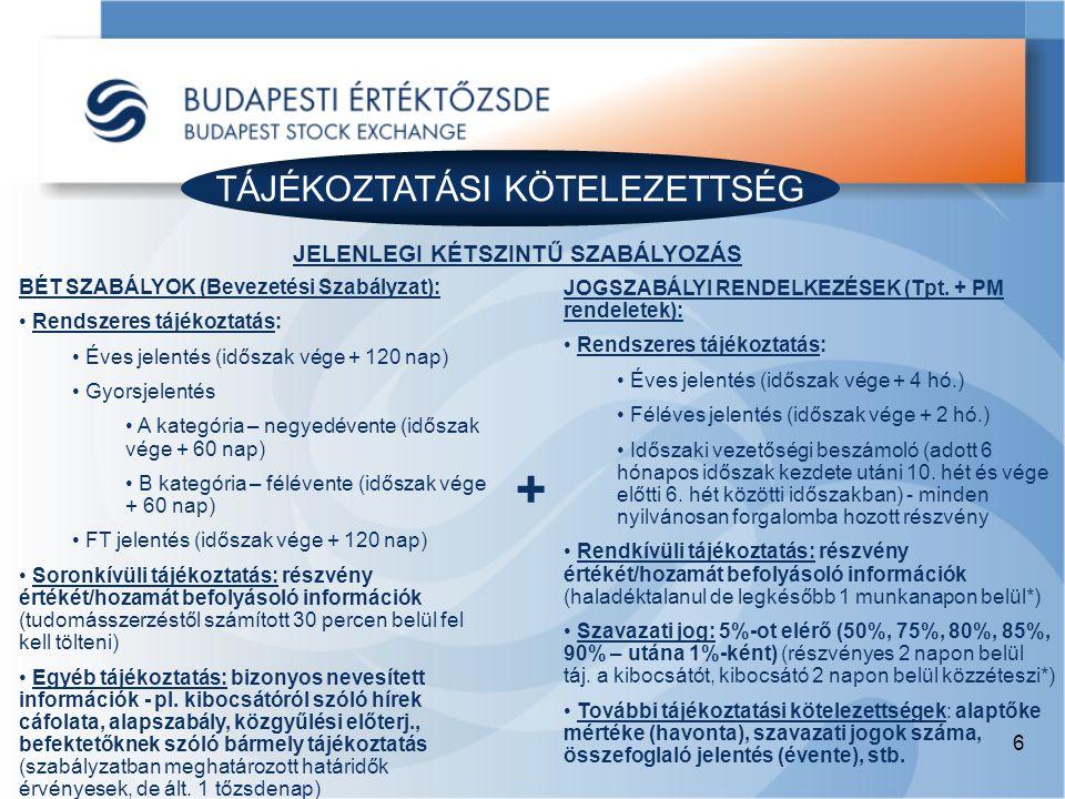 TÁJÉKOZTATÁSI KÖTELEZETTSÉG