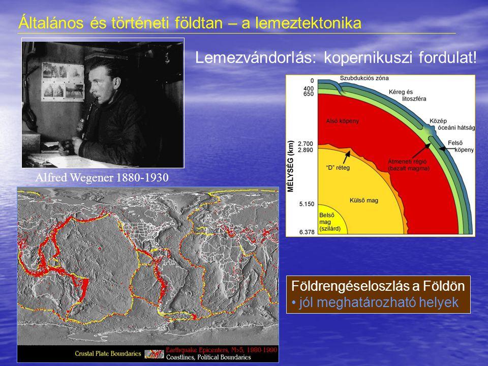 Általános és történeti földtan – a lemeztektonika