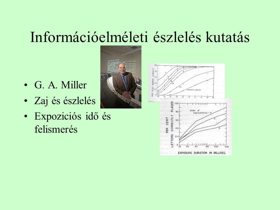 Információelméleti észlelés kutatás