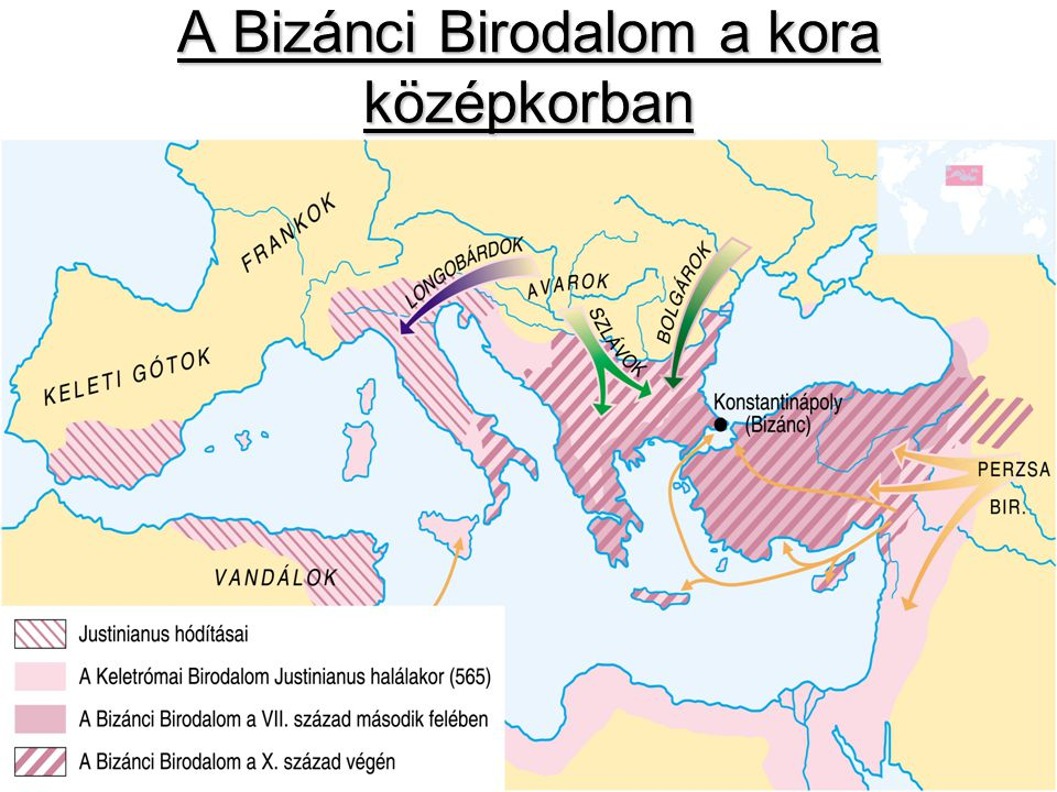 A Bizánci Birodalom a kora középkorban