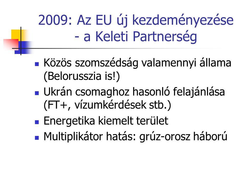 2009: Az EU új kezdeményezése - a Keleti Partnerség