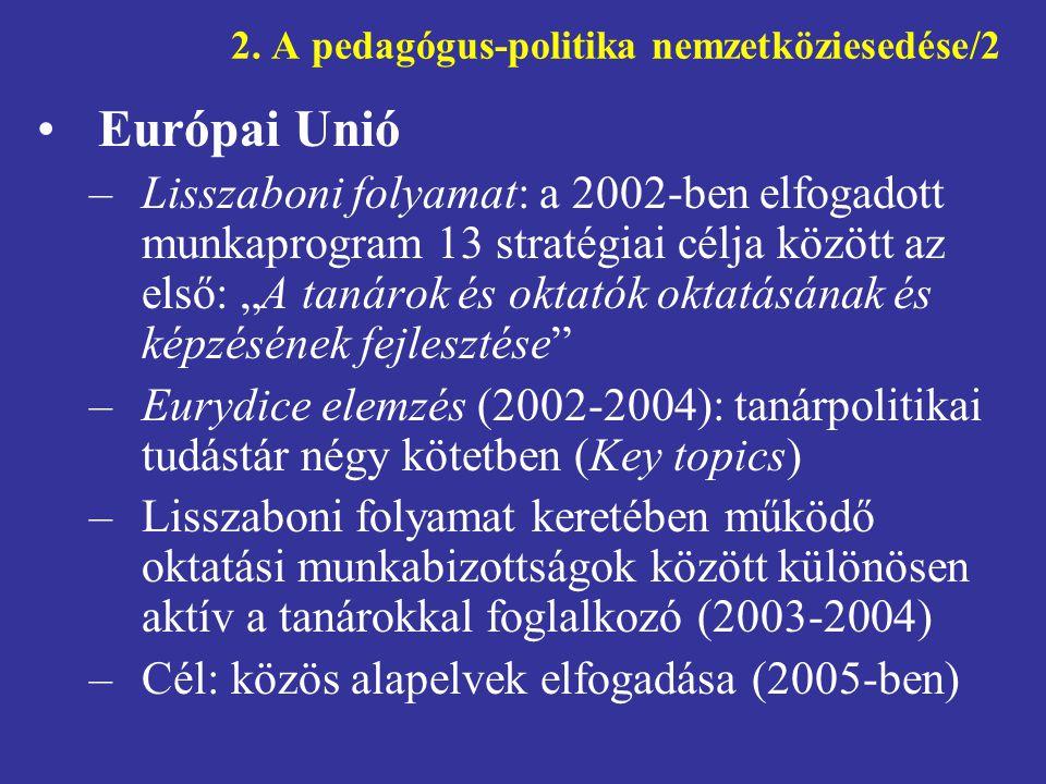 2. A pedagógus-politika nemzetköziesedése/2