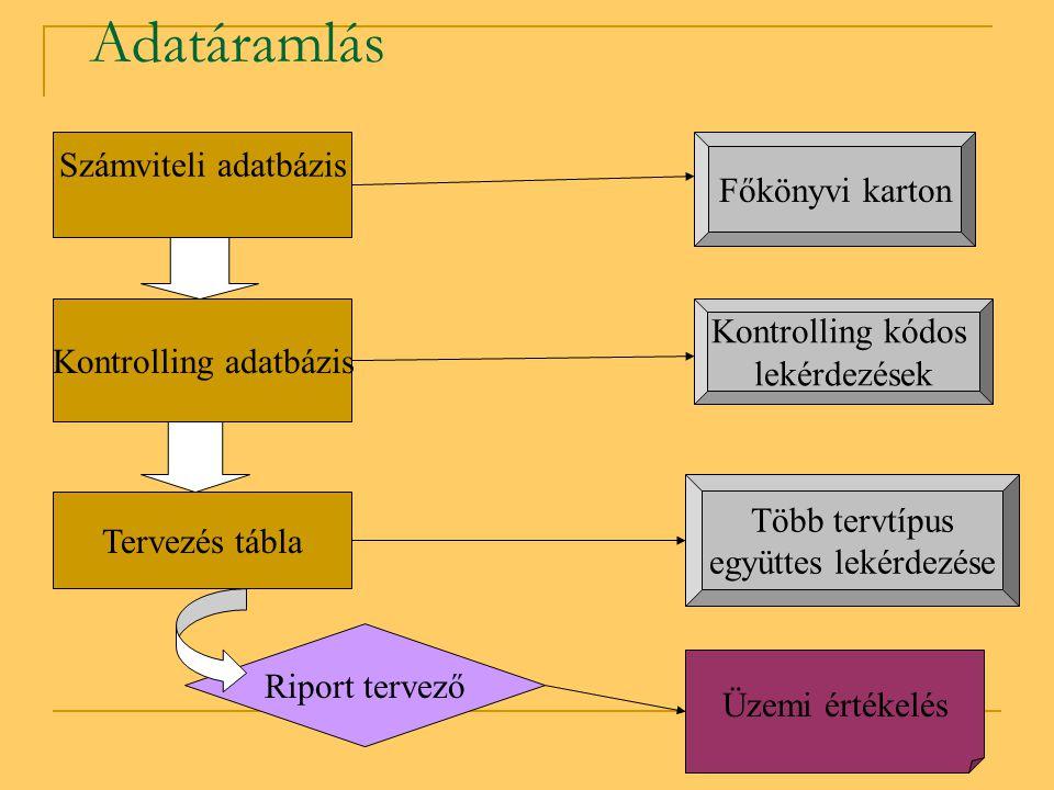 Kontrolling adatbázis